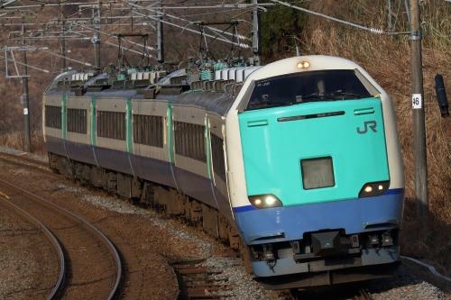 485系信越本線快速列車 長鳥-越後広田