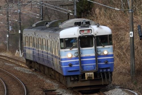 信越本線快速列車 長鳥-越後広田