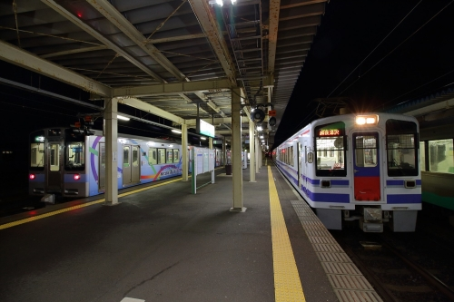 妙高はねうまライン+北越急行 直江津駅