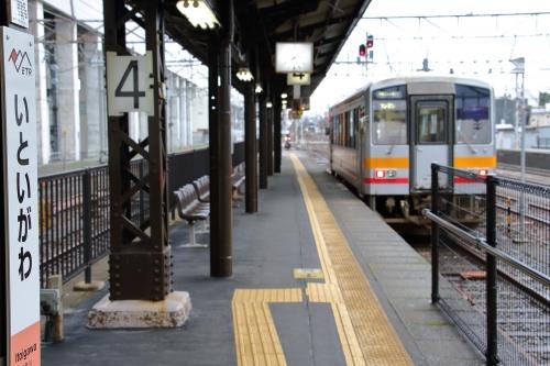 大糸線普通列車 糸魚川駅