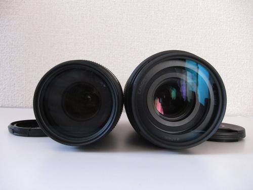 EF75-300mmと比較