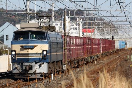 EF66 27牽引 5095レ 鴨宮駅