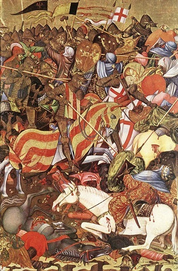 The Battle of the Puig at El Puig de Santa Maria in 1237