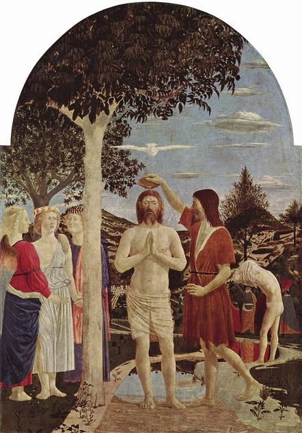 ピエロ・デラ・フランチェスカ 『キリストの洗礼』