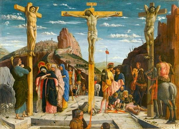 アンドレア・マンテーニャ 『磔刑図』1459年