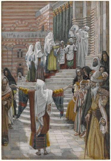 ジェームズ・ティソ 『イエスの神殿への奉献』