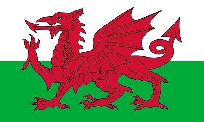 ウェールズ国旗