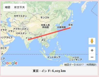 東京 インド