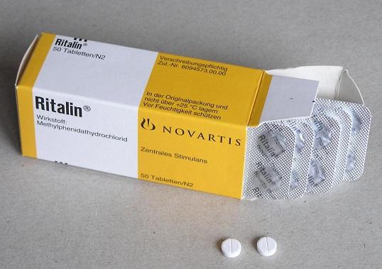 リタリンの錠剤