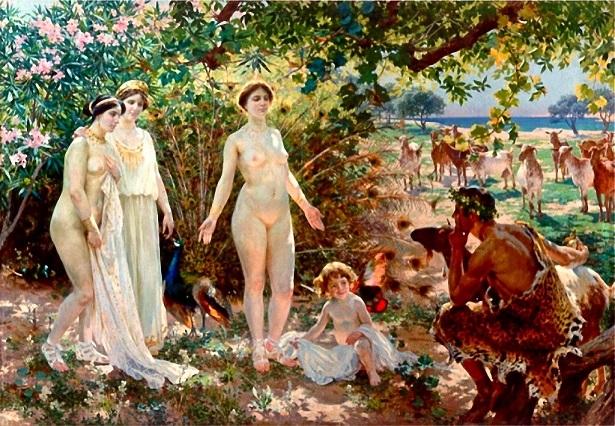 エンリケ・シモネ・ロンバルト 『パリスの審判』 1904年