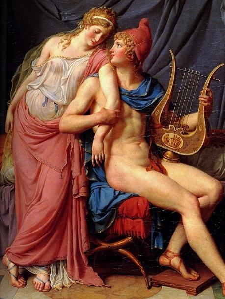 ジャック=ルイ・ダヴィッド 『ヘレネーとパリス』1788年