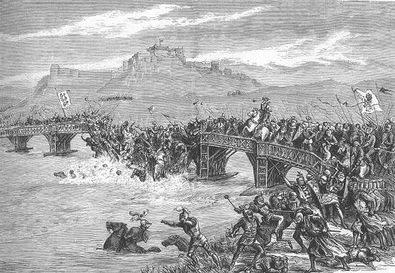 スターリング・ブリッジの戦いを描いた絵画
