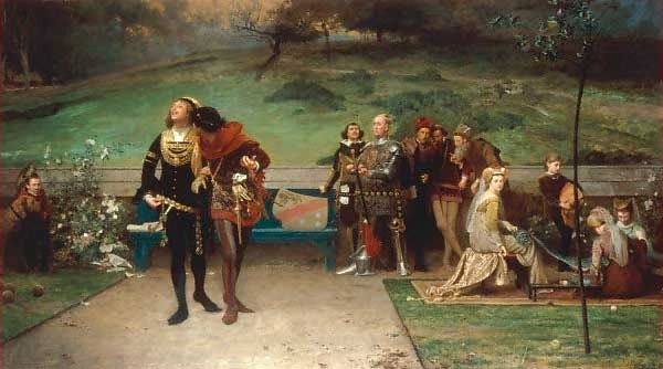 マーカス・ストーン『エドワード2世とギャヴィストン』