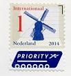 切手14  オランダ
