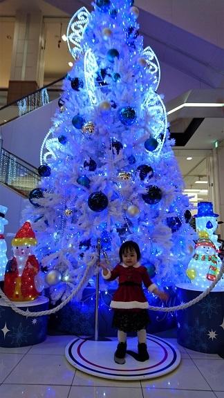 イオンのクリスマスツリー1