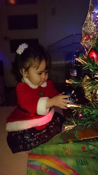 自宅のクリスマスツリー2