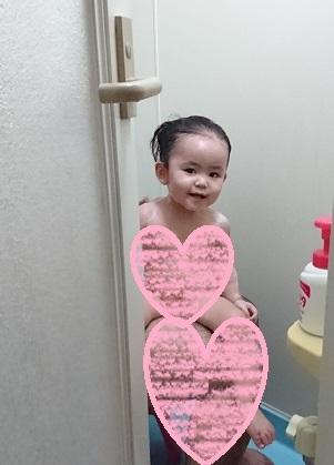 パパとお風呂1