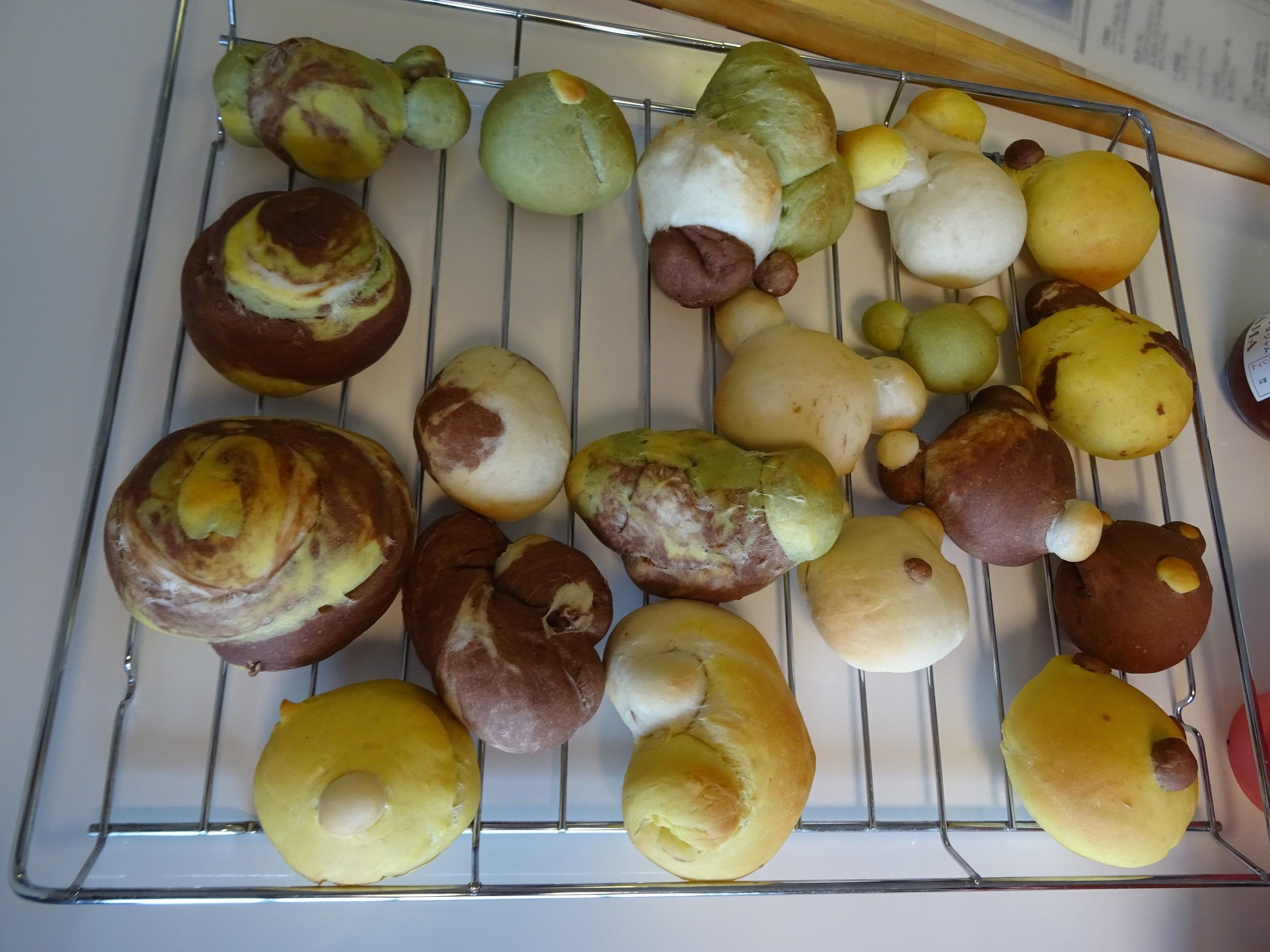 4種類の生地で作る創作パン レッスンレポート
