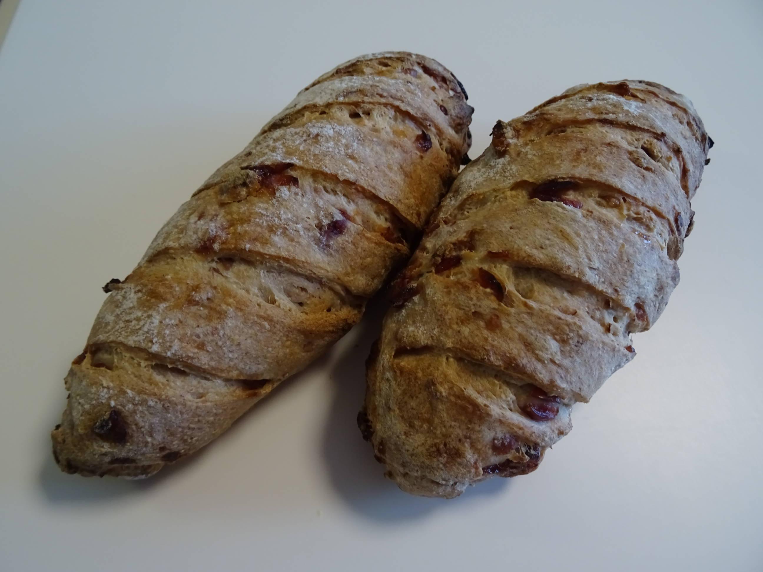 クランベリーのライ麦パン1