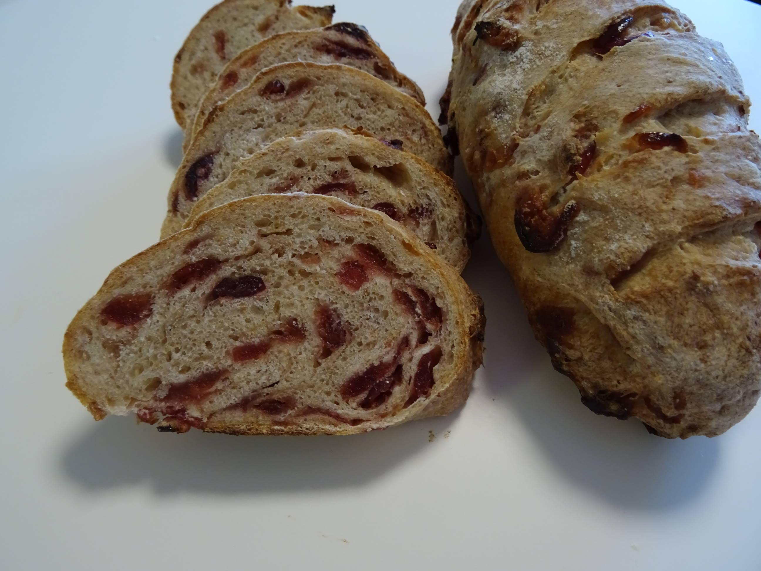 クランベリーのライ麦パン2