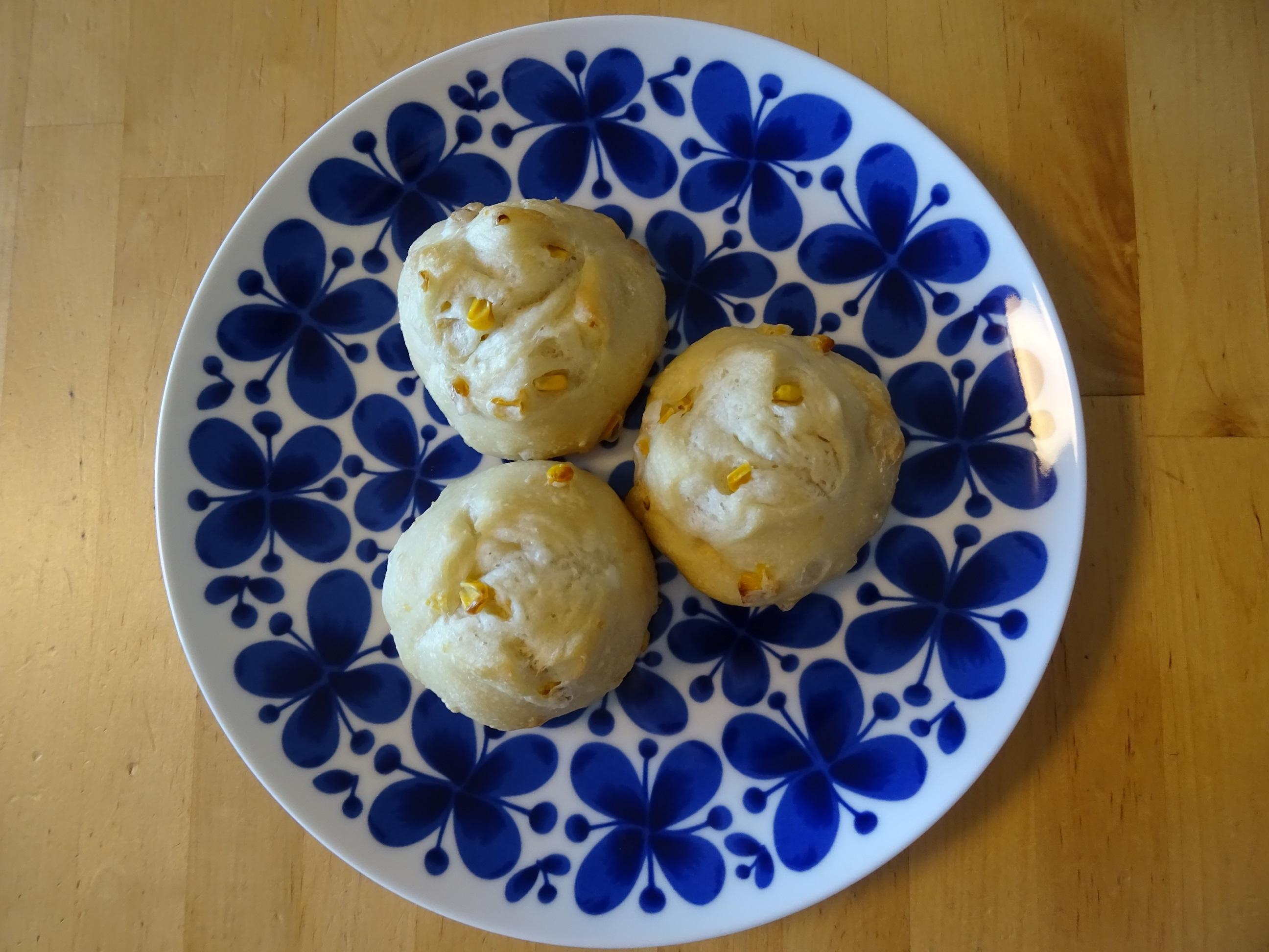 塩バターコーンパン1