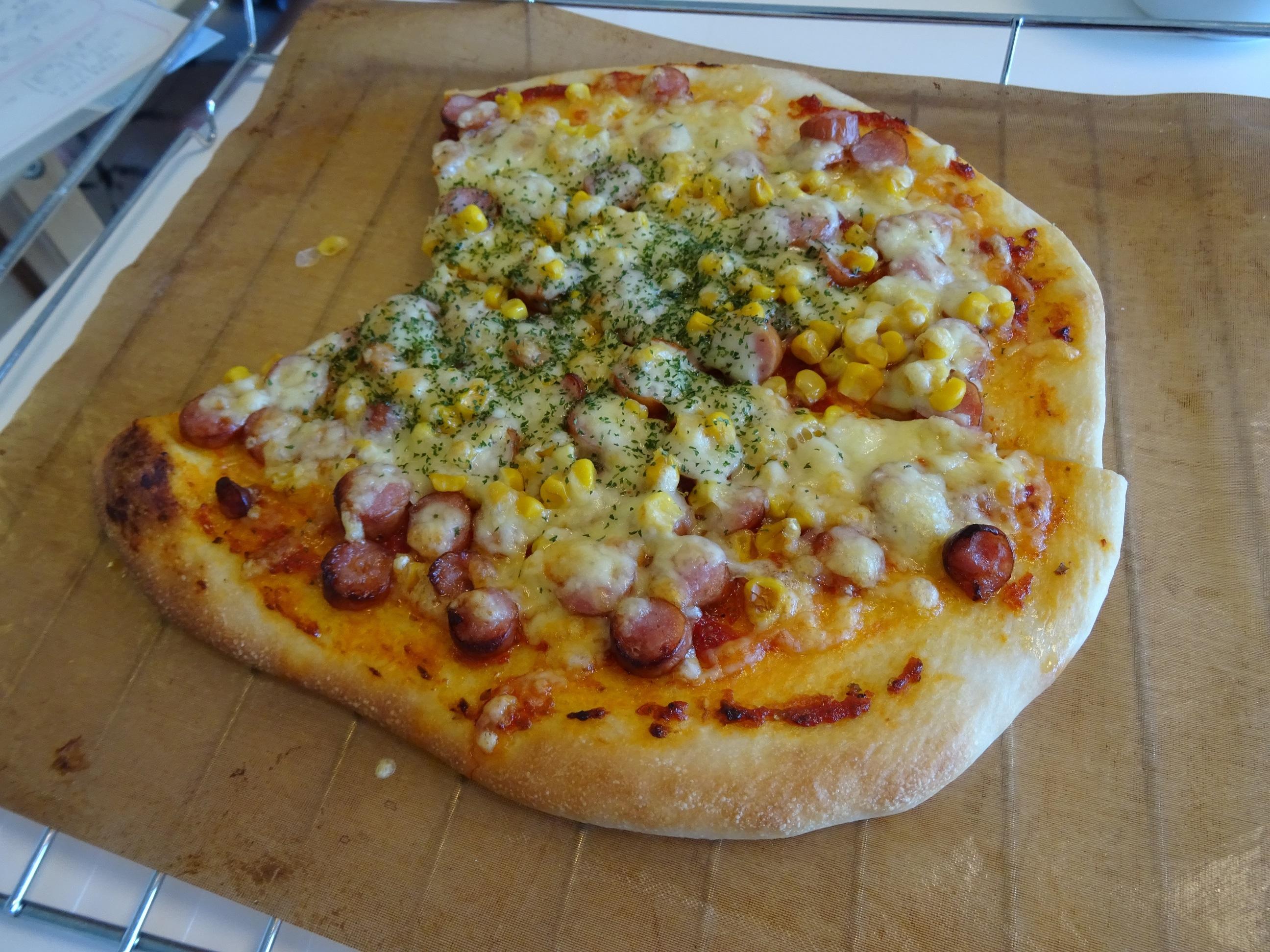ピザ&クリームパンレッスン1