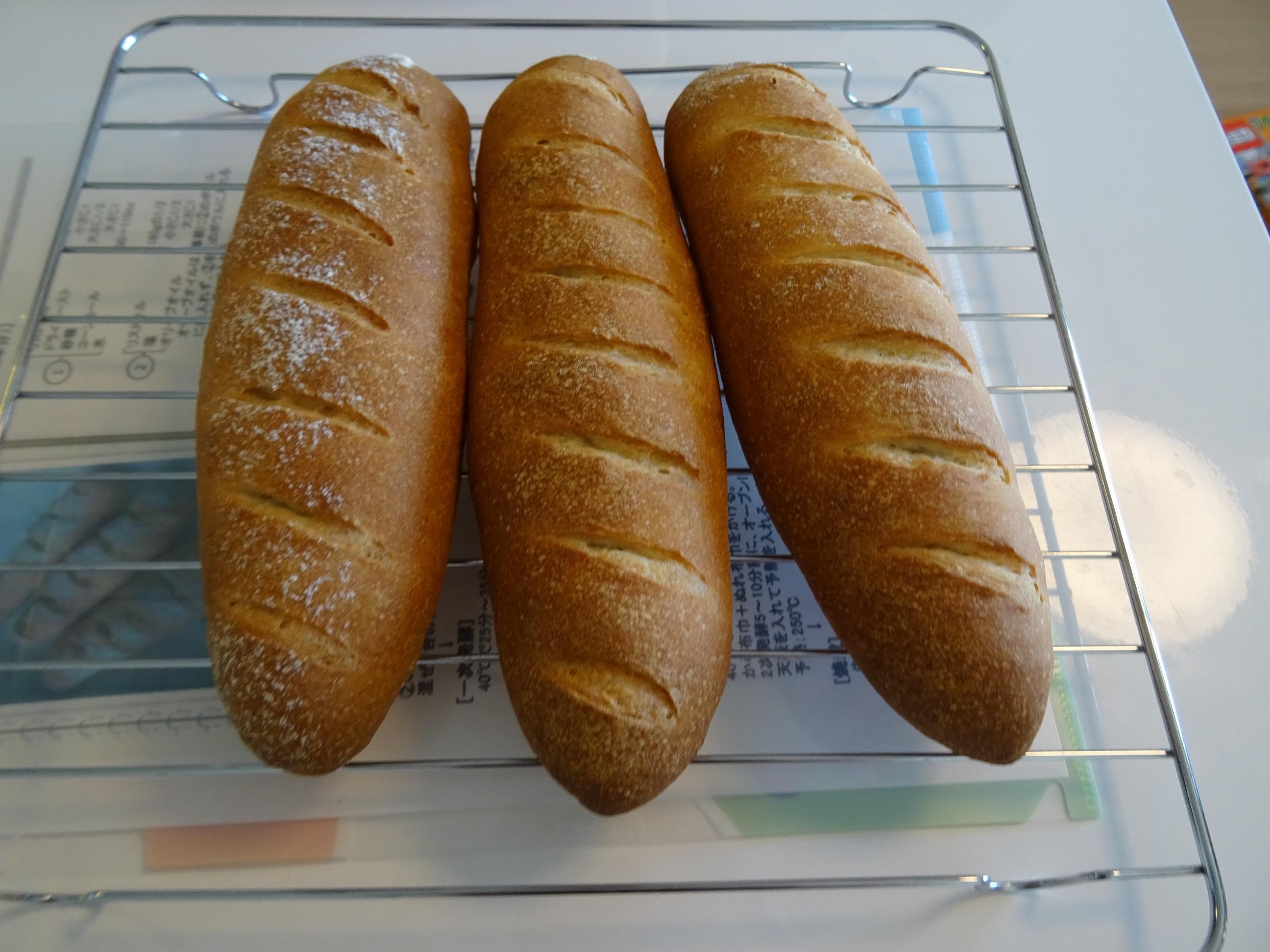 ミルクの折込パン&ソーセージフランス&ソーセージデニッシュ レッスンレポート1