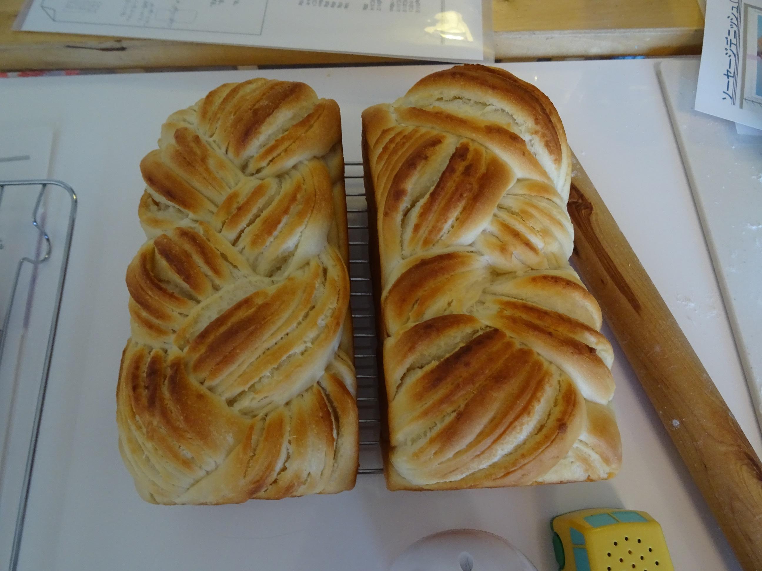 ミルクの折込パン&ソーセージフランス&ソーセージデニッシュ レッスンレポート2