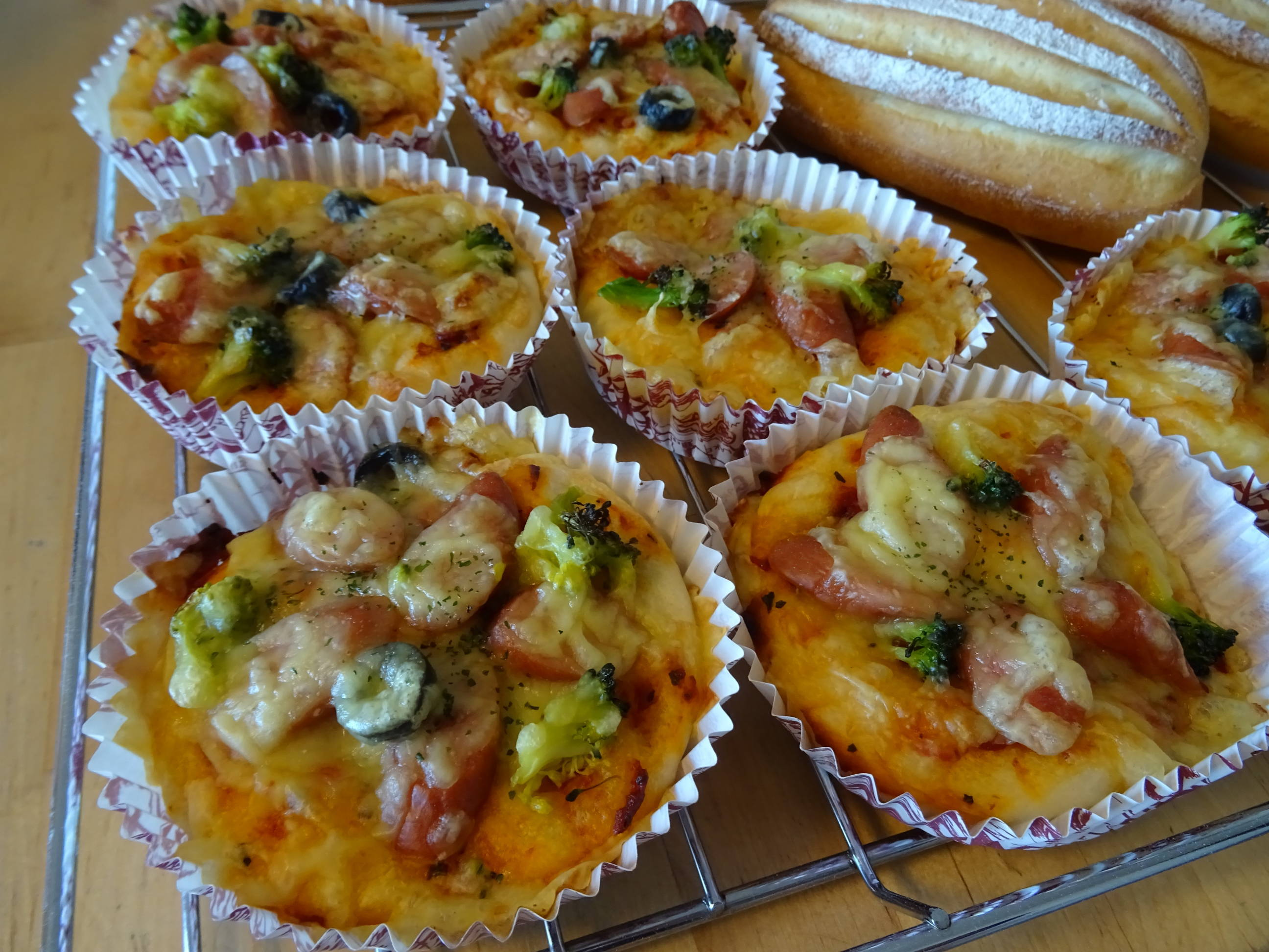 ピザパン&ミルクハース2
