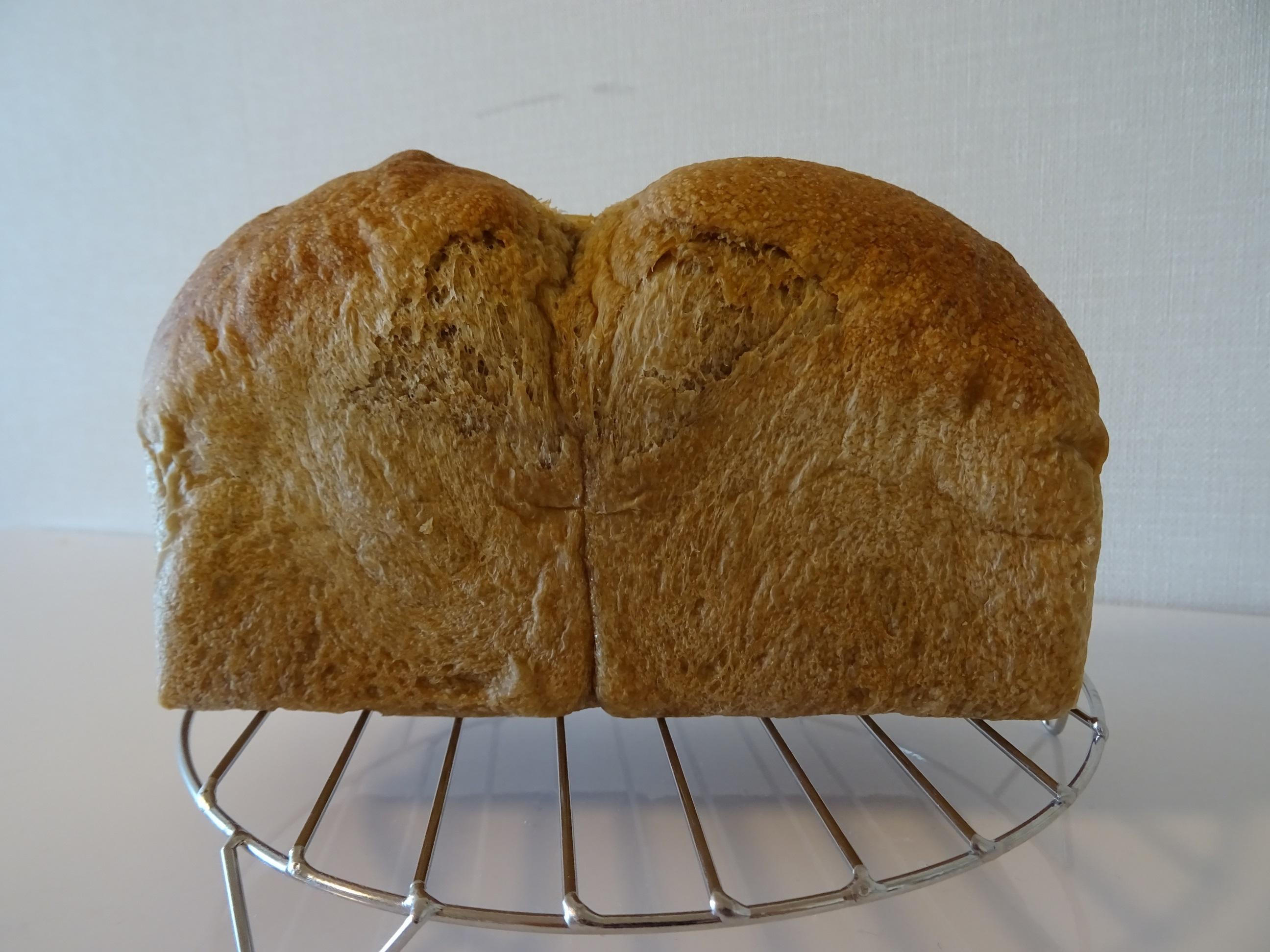 コーヒー食パンと苺大福1
