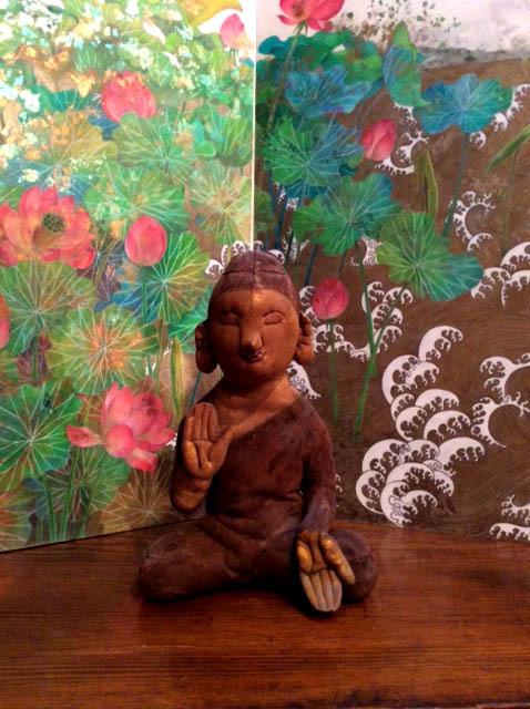 パンタレイ panta rhei 大田区 池上 柳田 久実 ギャラリー 仏像
