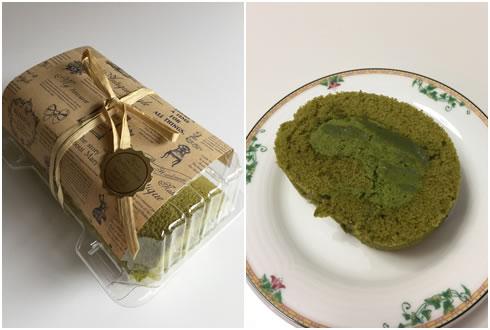 抹茶ロールケーキ2