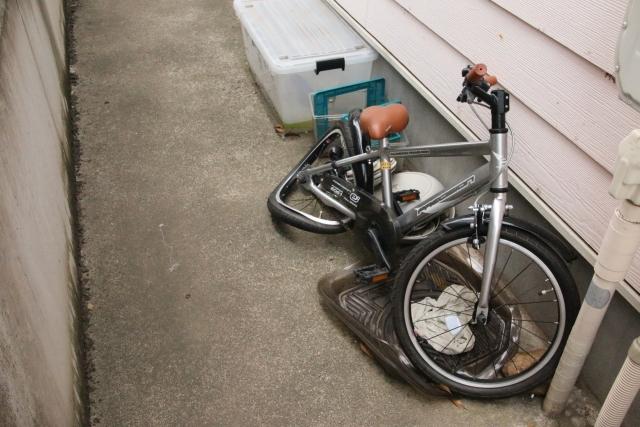 事故自転車