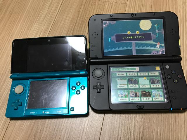 3DSと3DSLLとの違い