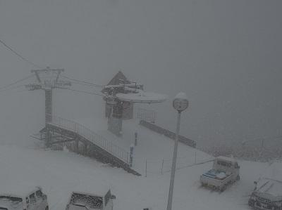 10月*積雪 (1)