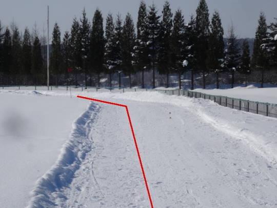 安平町追分区_柏が丘球場雪上コース (3)