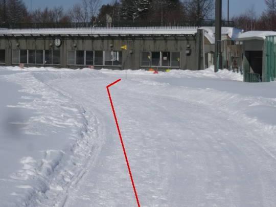 安平町追分区_柏が丘球場雪上コース (6)