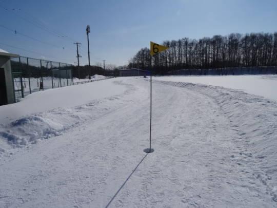安平町追分区_柏が丘球場雪上コース (7)