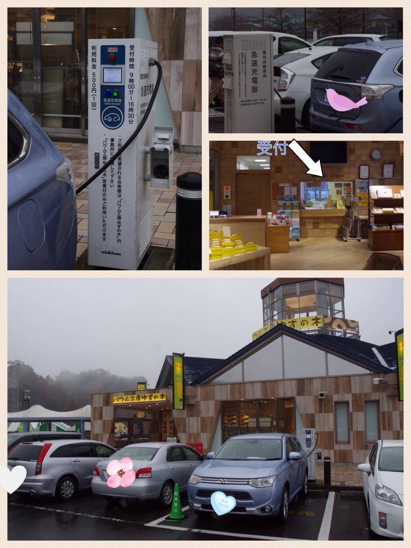 EV充電スポット 道の駅もてぎ