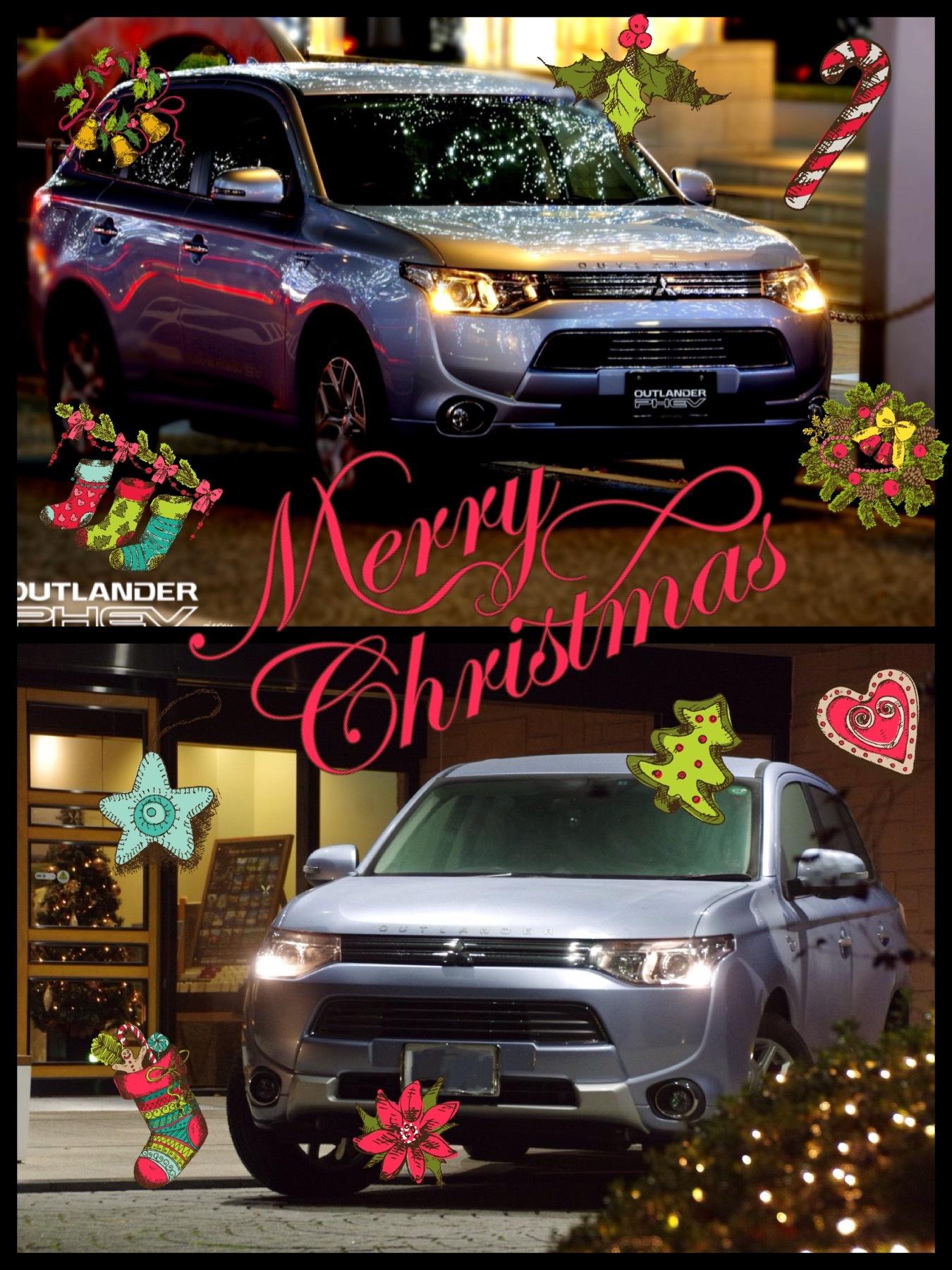 2016メリークリスマス アウトランダーPHEV