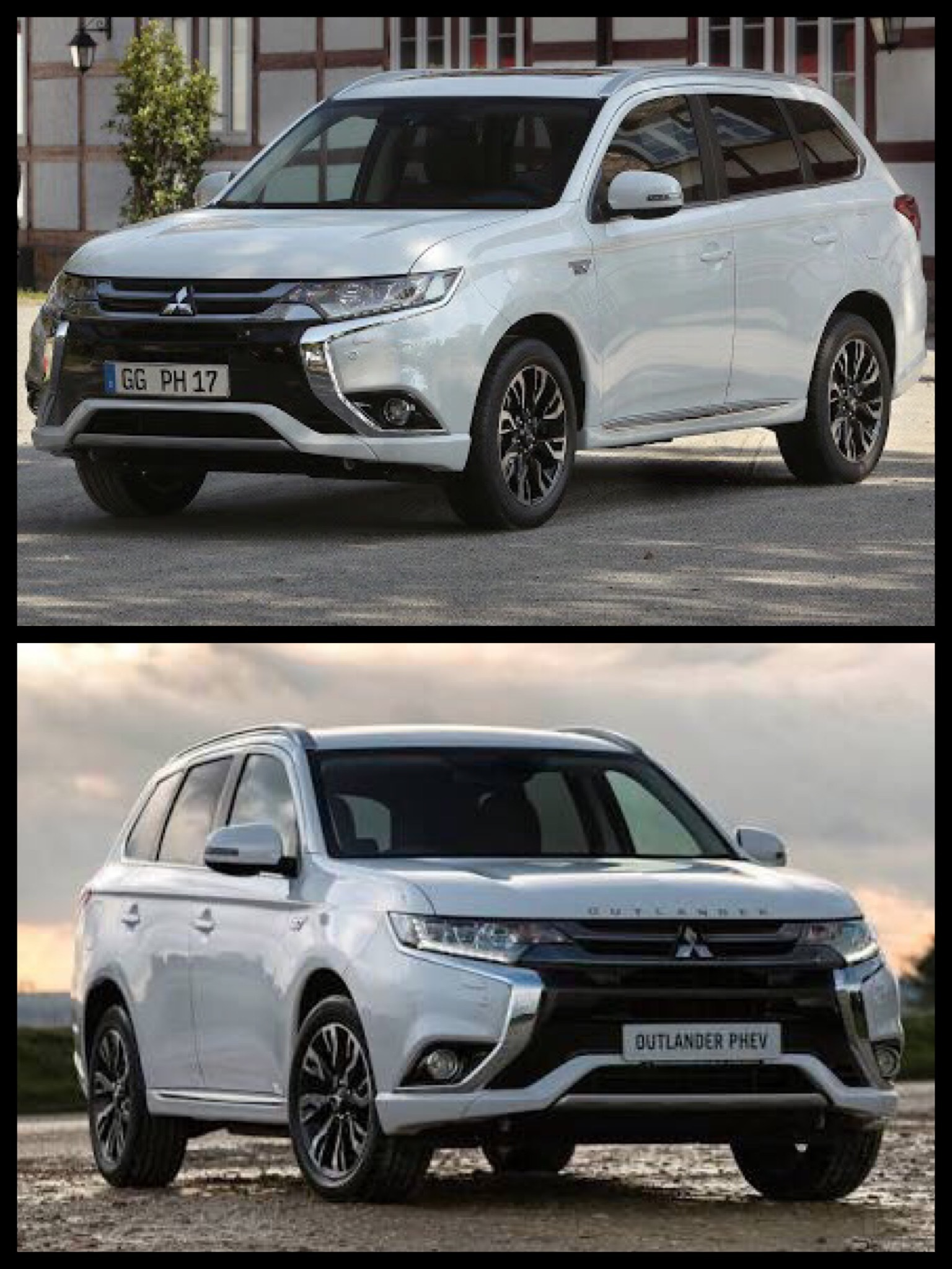 世界の三菱アウトランダーPHEV Mitsubishi Outlander PHEV in the world