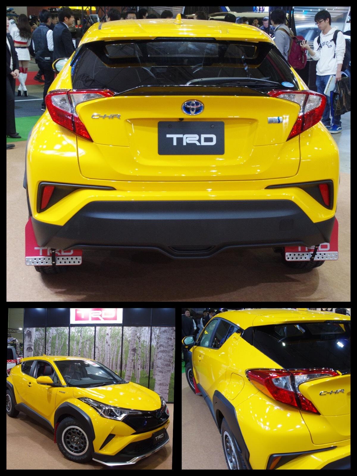 トヨタC-HR カスタマイズ TRD エクストリームスタイル 東京オートサロン2017