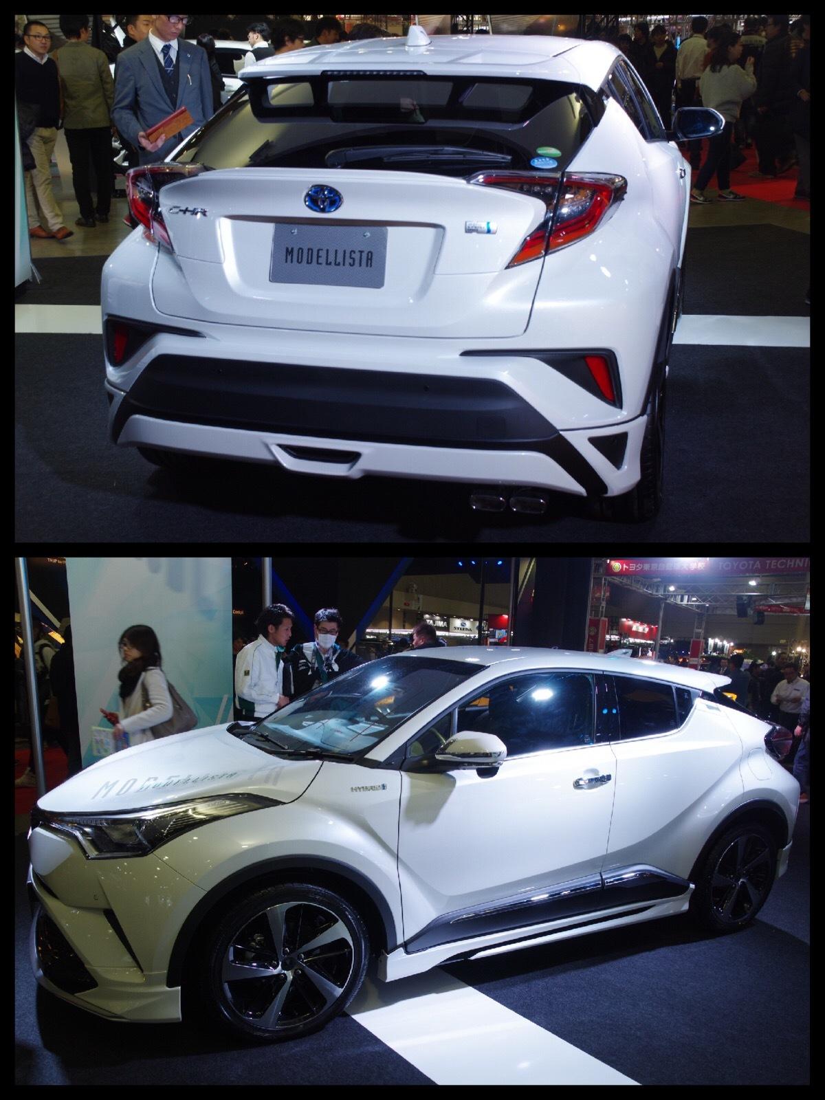 トヨタC-HR カスタム モデリスタ エレガントアイススタイル 東京オートサロン