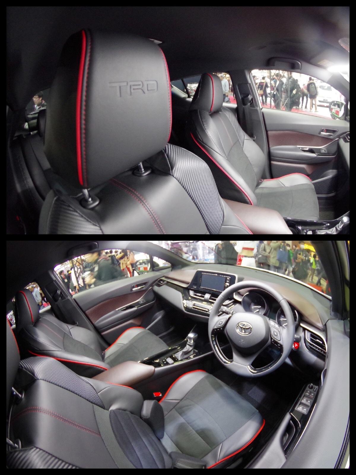 トヨタC-HR カスタム TRD アグレッシブスタイル 東京オートサロン
