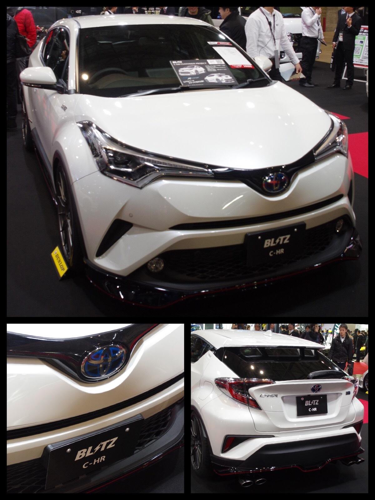 トヨタC-HR カスタムカー britz 東京オートサロン