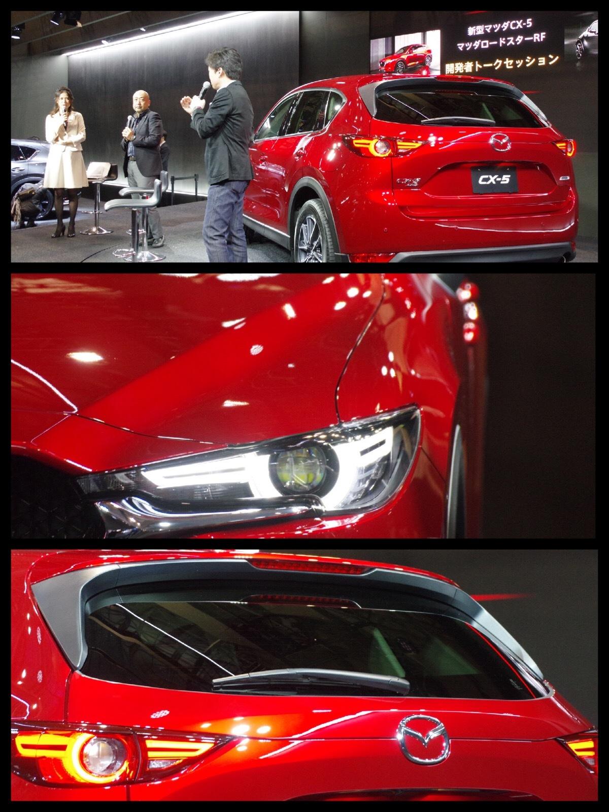 東京オートサロン2017マツダ新型CX-5