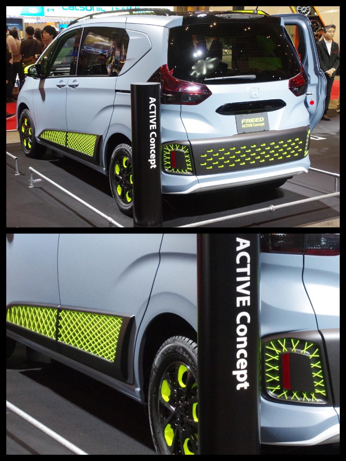 ホンダ フリード ACTIVE Concept 東京オートサロン2017