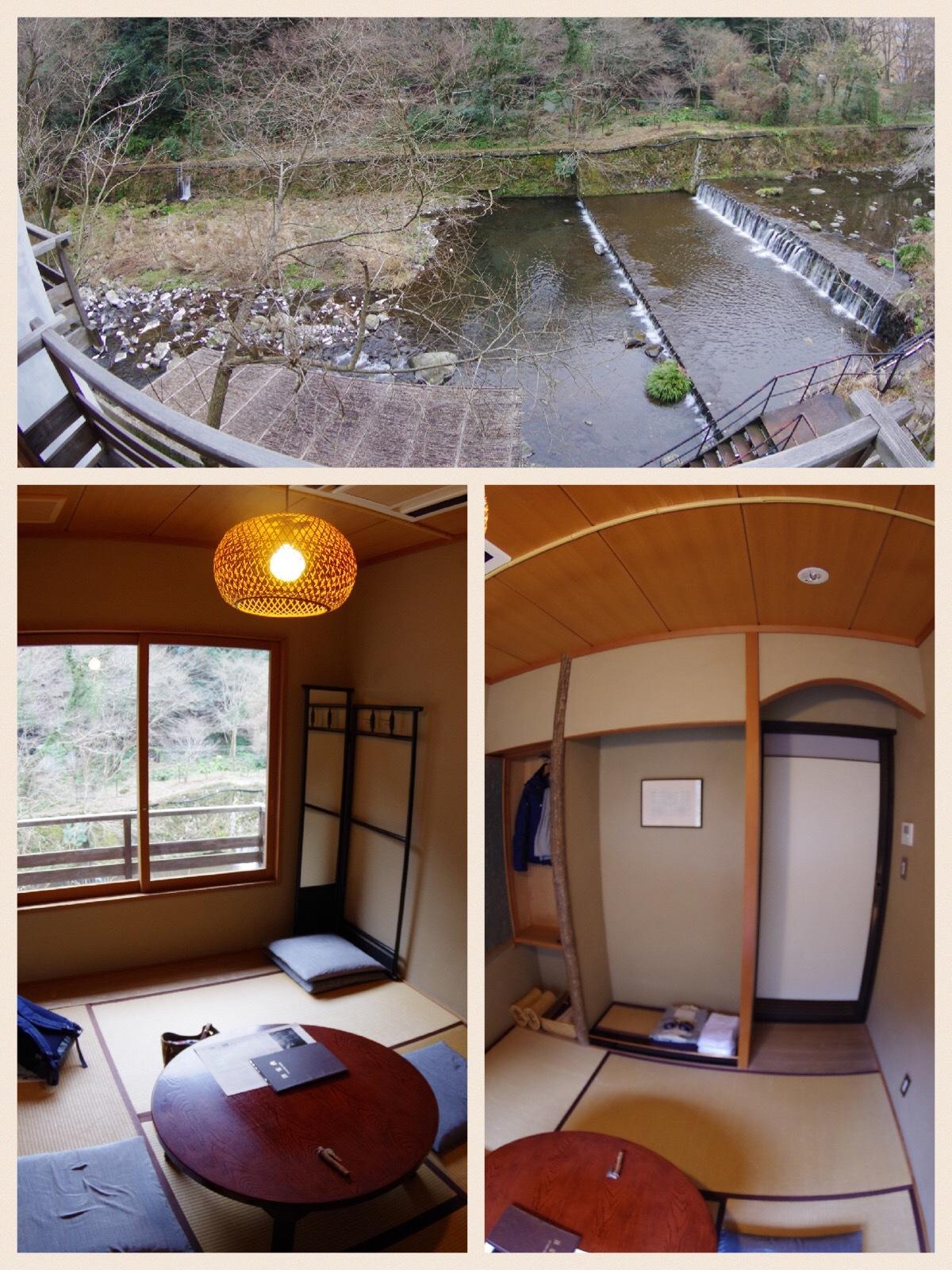 箱根ドライブ旅行 日帰り温泉 天山 奥の湯