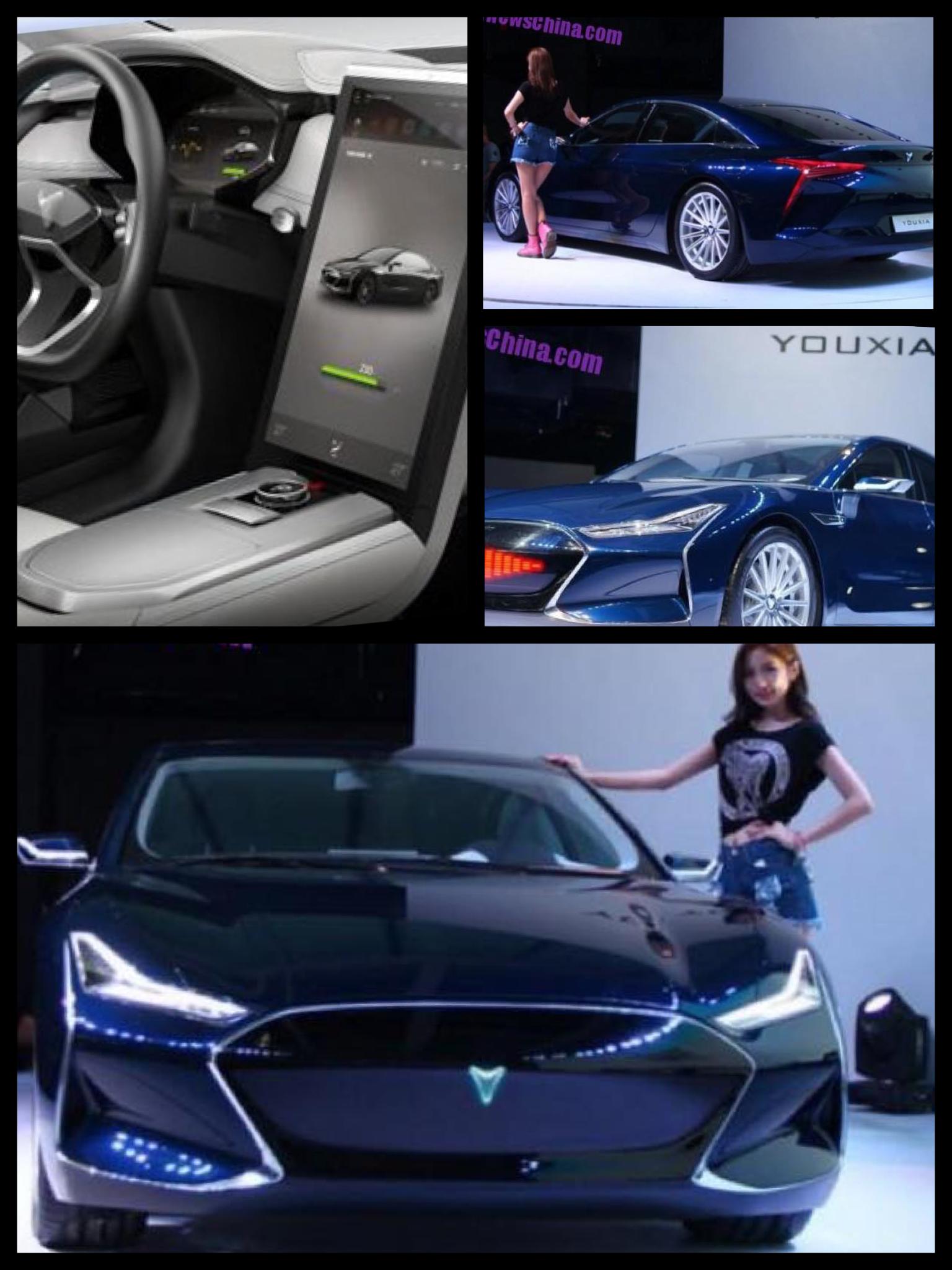 中国 EV youxia ヨウクシャ ナイトライダー