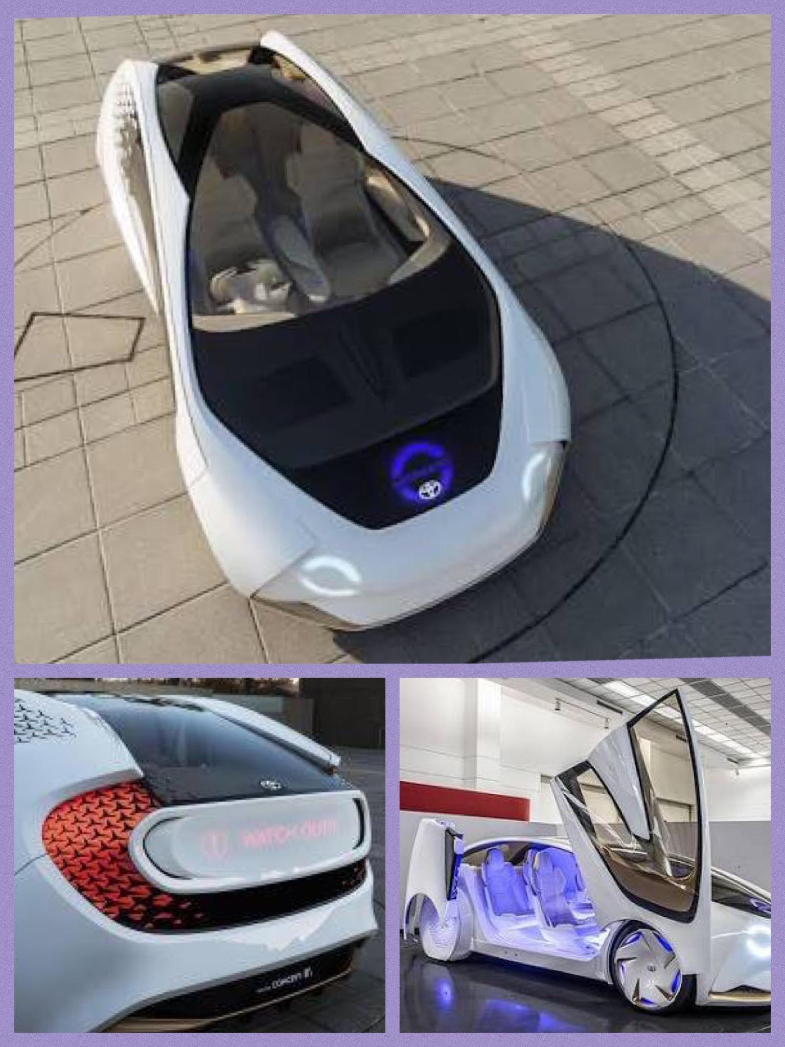 トヨタ CES2017 コンセプト愛i AI yui